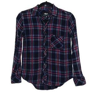 Rails | Super Soft Flannel Plaid Long Sleeve Shirt